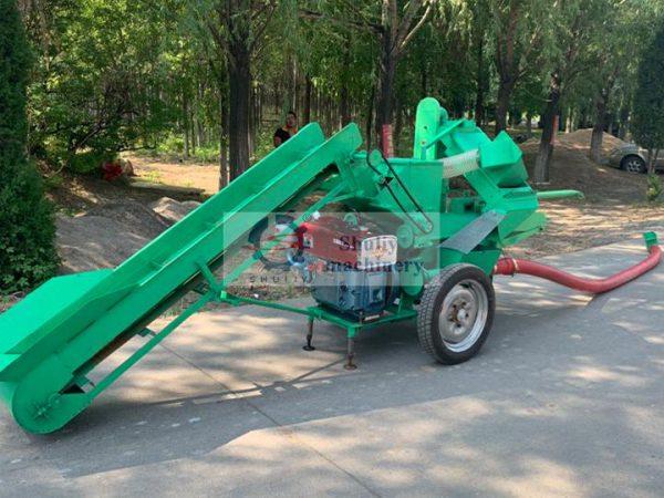automatic corn thresher machine