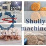 automatic crumb breading machine application