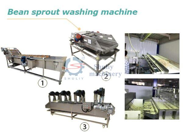 bean sprouts cleaning machine