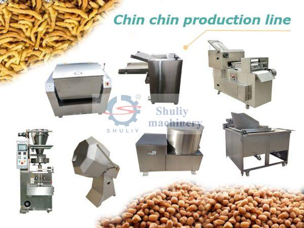 chin chin production line