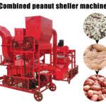 combined peanut sheller machine