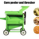 corn peeler and thresher