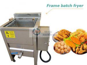 frame batch fryer