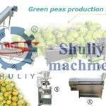 fried peas processing line