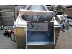 gas automatic batch fryer