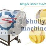 ginger slicer machine