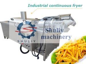 industrial continuous fryer