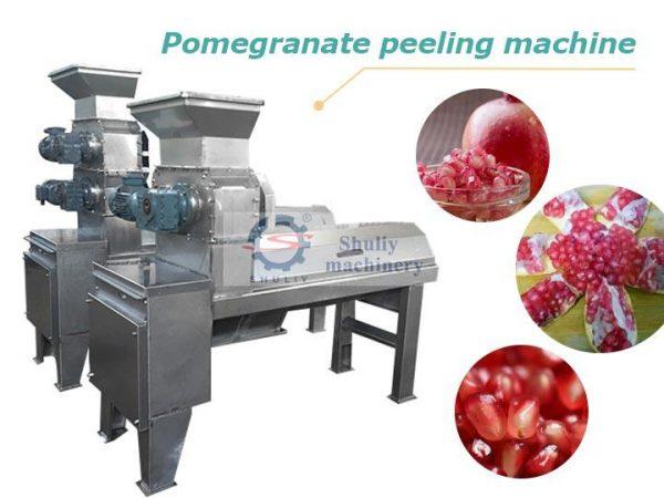 pomegranate peeling machine