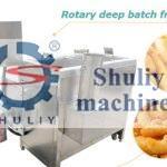 rotary deep batch fryer