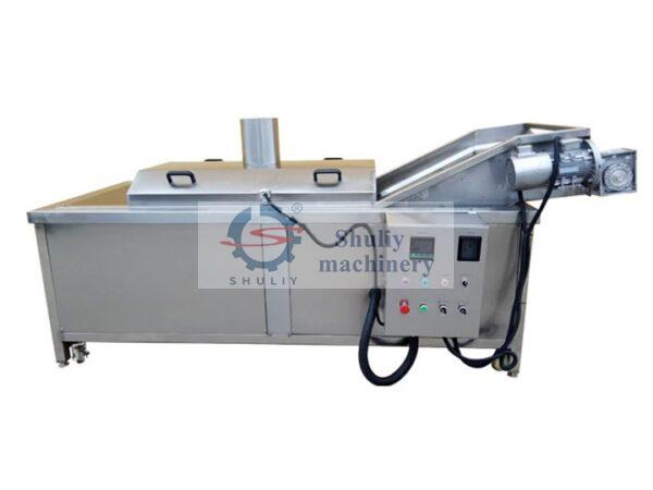 small industrial continuous fryer