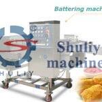 tempura battering machine