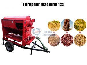 thresher machine for rice wheat bean sorghum millet