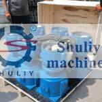 6 sets animal feed pellet machine shipped to America