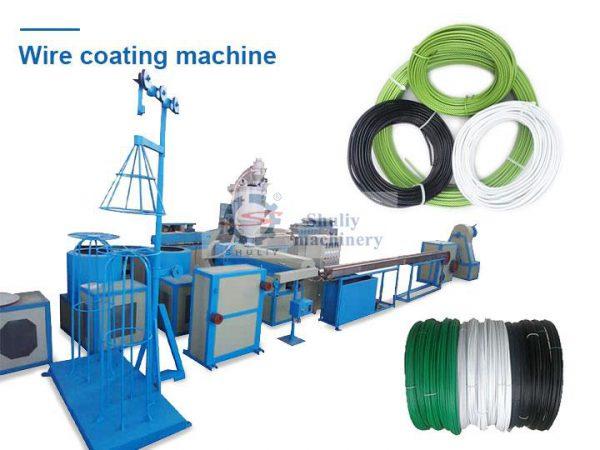 Wire coating machine