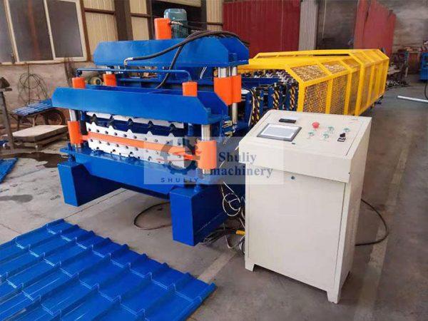 commercial color steel tile press machine