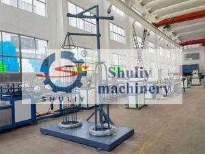 complete wire coating machine