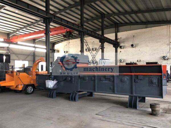 newly manufactured pallet crusher machine