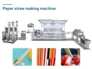 paper straw makiing machine
