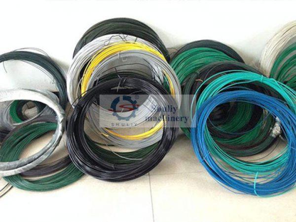 plastic coated iron wires