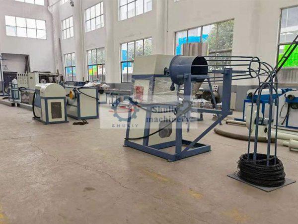 wire plastic coating machine